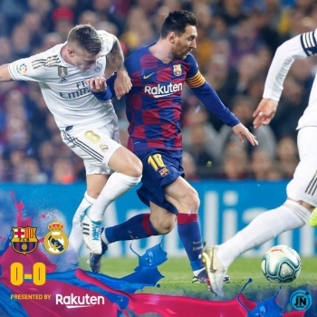 Barcelona vs Real Madrid 0-0 - El Clasico Highlights